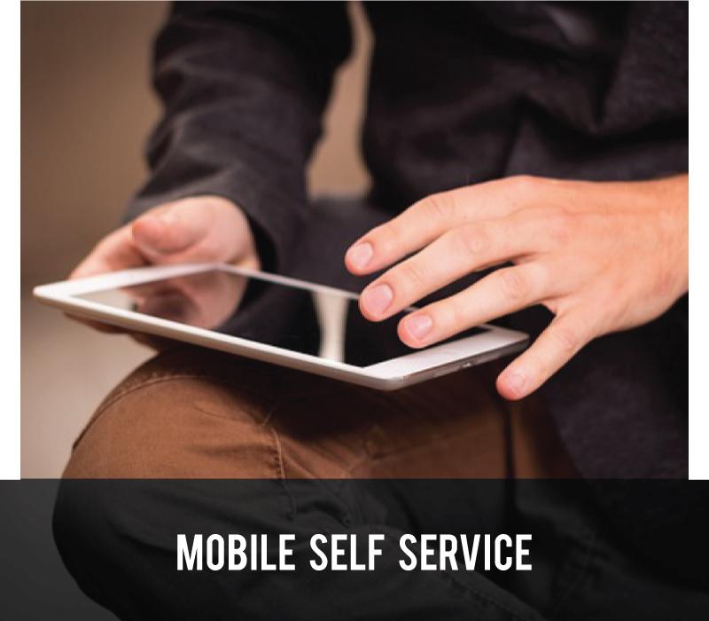 Mobile Self Service