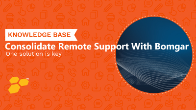 Remote Support With Bomgar